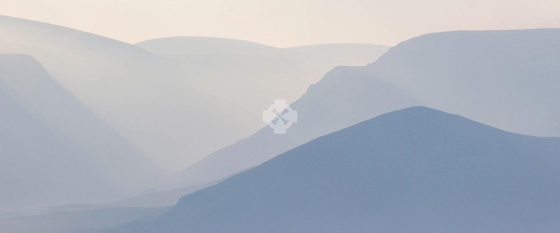 strathspey cairngorms landscape september morning