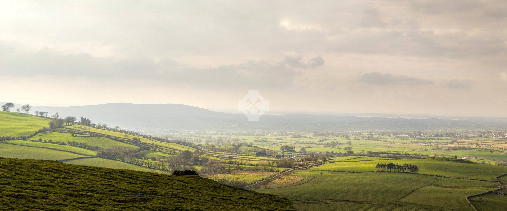 Meath landscape from cairn T, Loughcrew