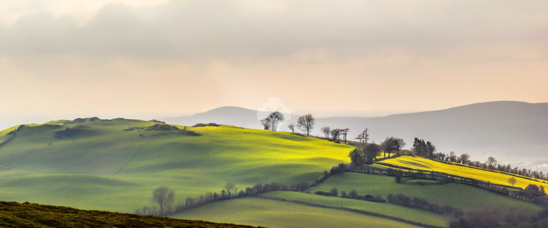 Loughcrew landscape, Co. Meath, Ireland