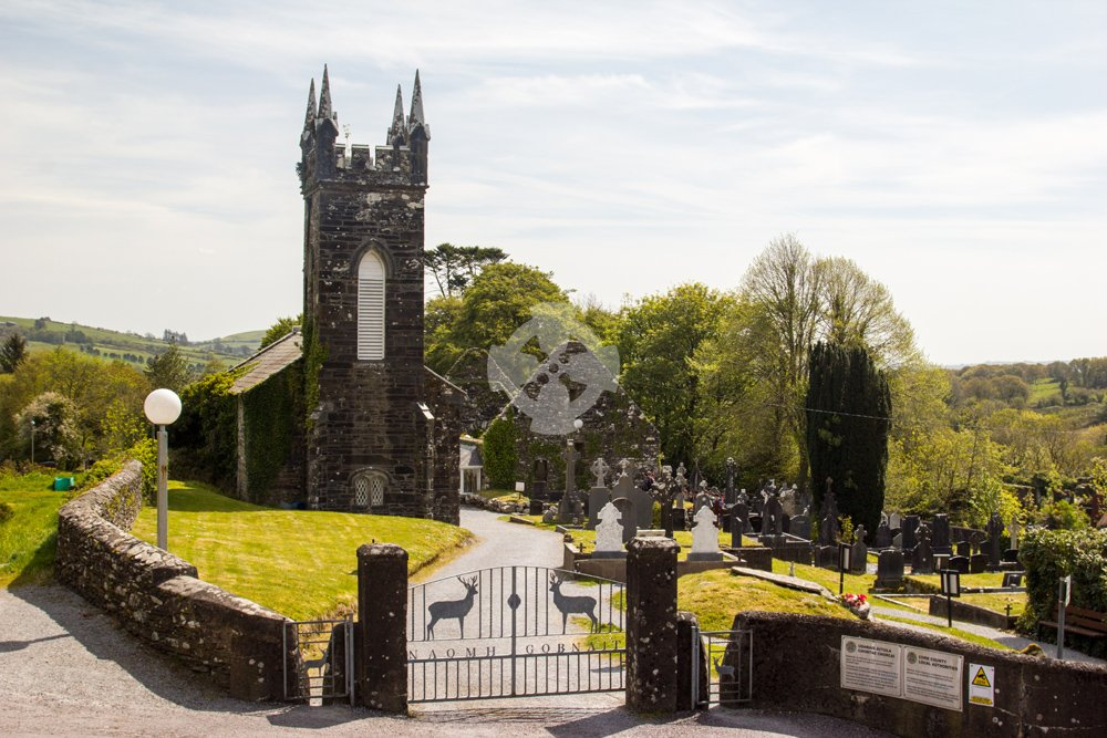 Photo of the church at St Gobnait, Balleyvourney