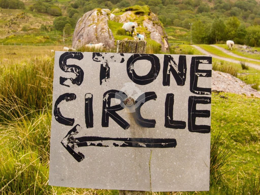 To the stone circle