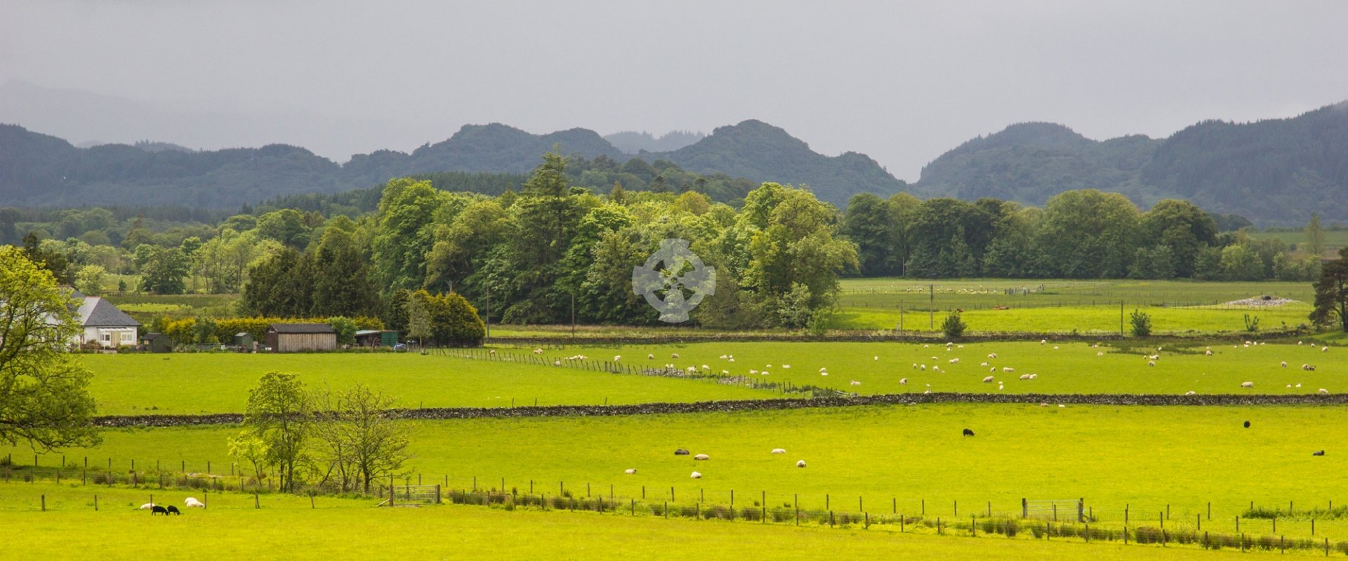 kilmartin glen from church landscape panorama