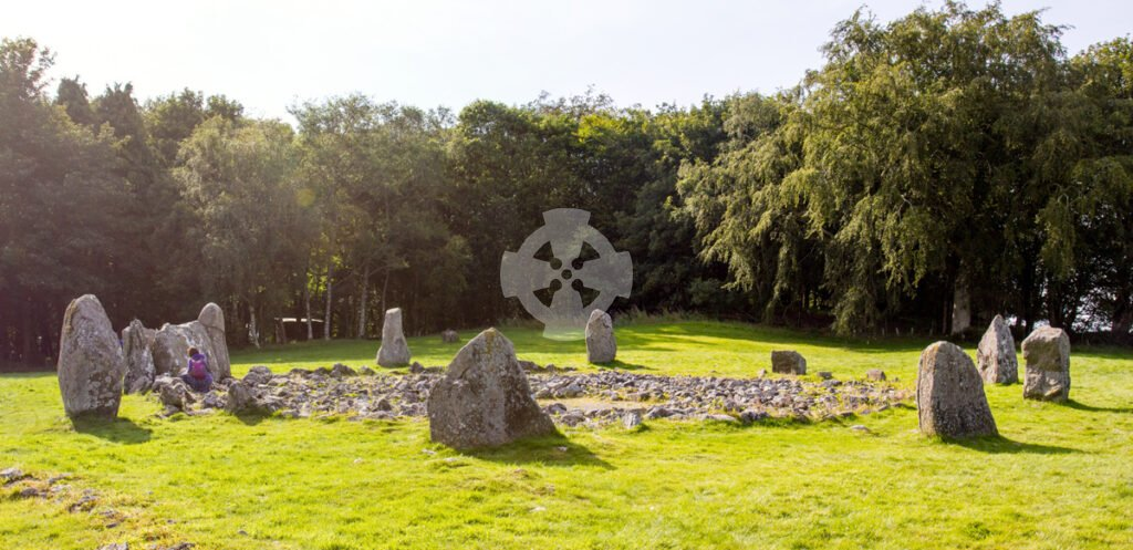Image showing Loanhead of Daviot stone circle from the southeast